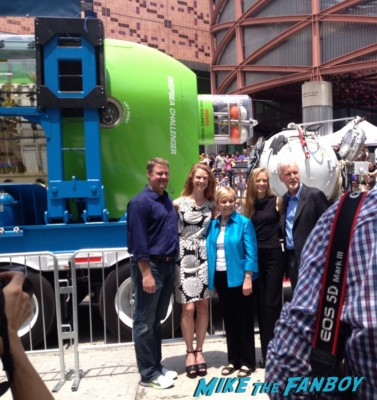 suzy amis at the deep sea challenger james cameron signing autogaphs at event science center
