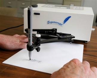 auto pen machine copier rare
