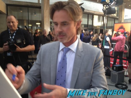 sam trammell signing autographs true blood season 6 premiere red carpet anna paquin alexander skarsgard hot rare
