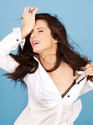 sandra bullock exhausted photo shoot rare promo hot the blind side