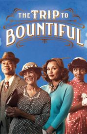 the trip to te bountiful broadway poster cuba gooding jr. rare