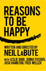 Jenna Fischer and Leslie Bibb in Reasons to be Happy broadway poster rare