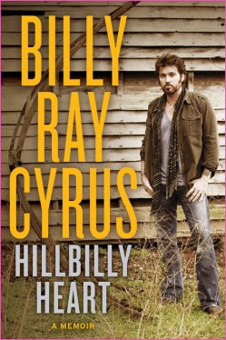 Billy Ray Cyrus hillbilly heart signed autograph book promo rare