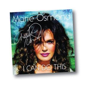 Marie Osmond I Can Do This cd cover rare promo signed autograph rare