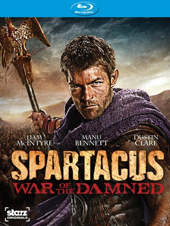 spartacus war of the damned blu ray cover photo spartacus war of the damned liam mcintype promo hot sexy rare shirtless naked hot