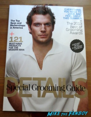 henry cavill details magazine hot sexy cover photo rare promo muscle
