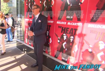 Paul Feig on the red carpet at the heat boston premiere red carpet sandra bullock paul fieg