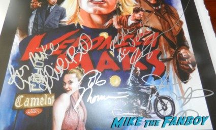veronica mars signed autograph movie poster kristen bell 002
