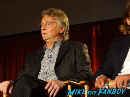Michael Hirst at the vikings cast q and a television academy 066