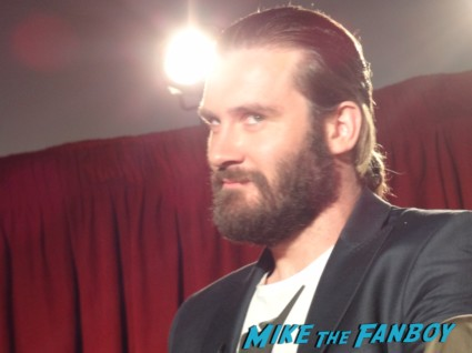 Owen Standen at the vikings cast q and a television academy 120