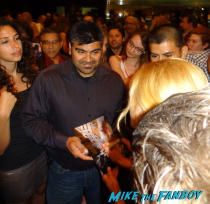 Katheryn Winnick signing autographs vikings cast q and a television academy 223