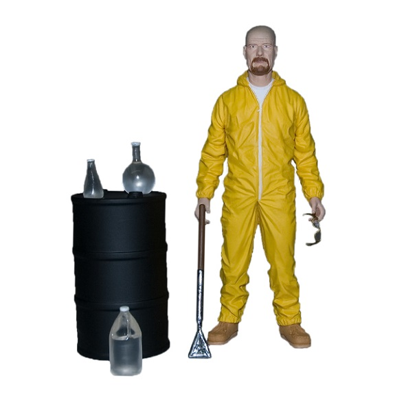 SDCC 2013 Walter White Breaking Bad Exclusive Mezco toys action figure rare bryan cranston