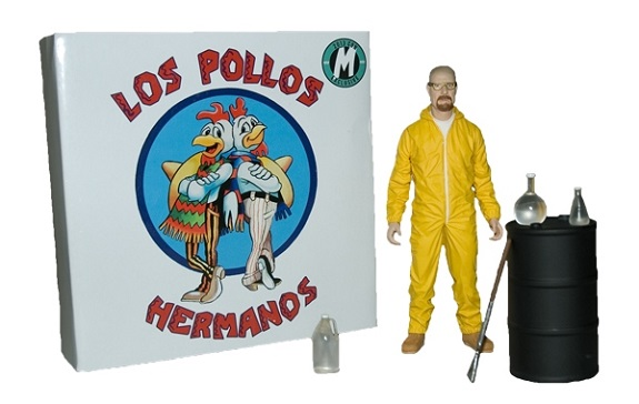 SDCC 2013 Walter White Breaking Bad Exclusive Mezco toys action figure rare bryan cranston