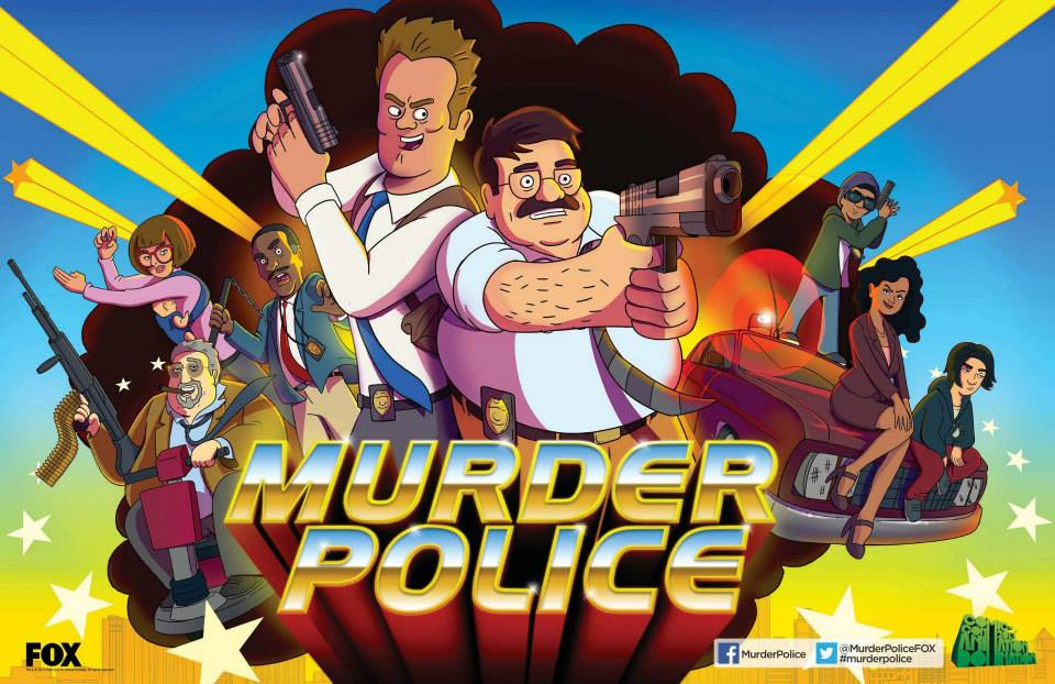 murder police sdcc 2013 promo poster FOX Booth promo