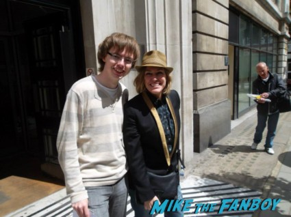 Cerys Matthews fan photo signing autographs for fans rare promo hot