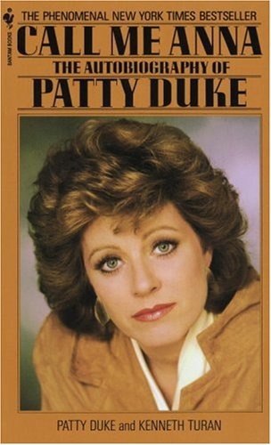Patty Duke Call me Anna book cover rare promo hot