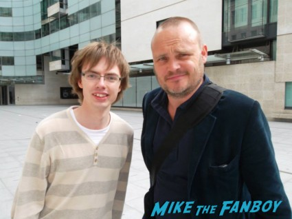 BBC radio presenter al murray fan photo signing autographs in london