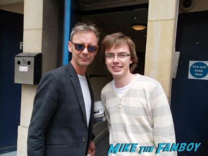 John Simm  signing autographs fan photo rare promo hot dr. who star