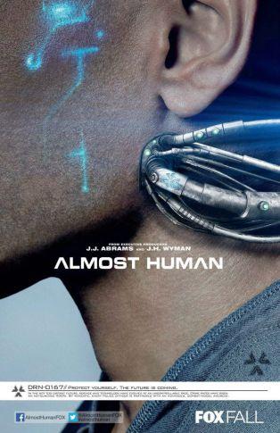 Almost human season 1 promo poster FOX Booth promo