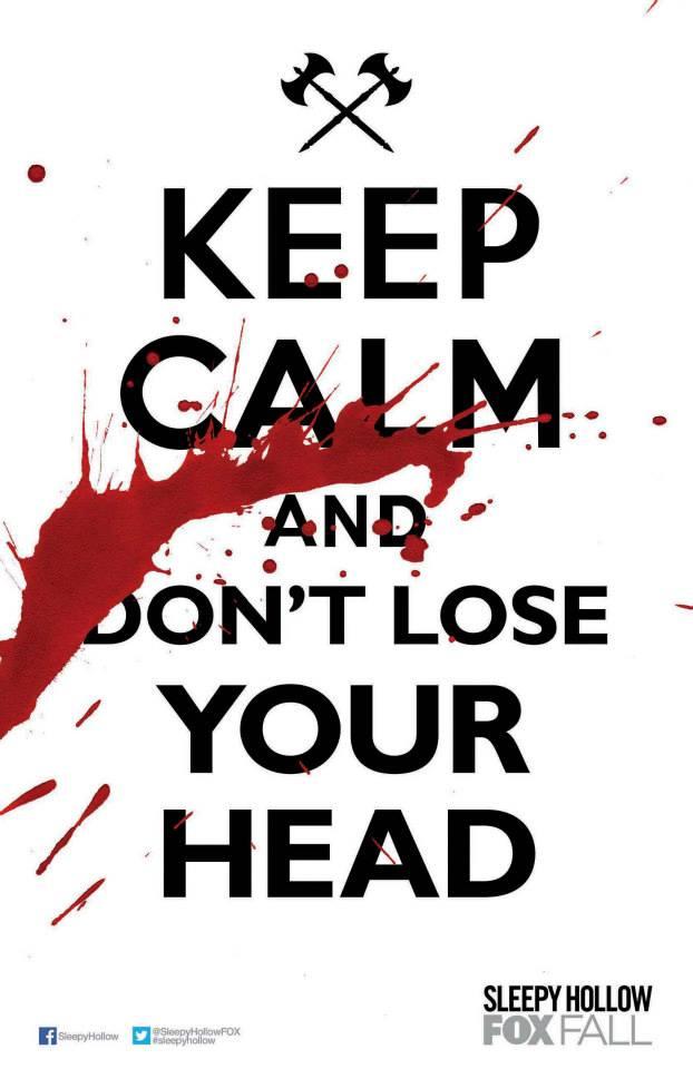 Sleepy Hollow season 1 promo poster FOX Booth promo
