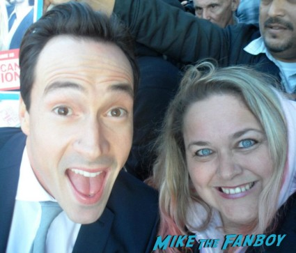 Chris Klein fan photo signing Autographs for fans