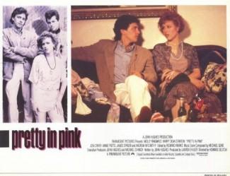 pretty in  pink lobby card rare promo