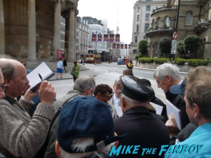 Marianne Jean Baptiste secrets and lies signing autographs for fans in london rare