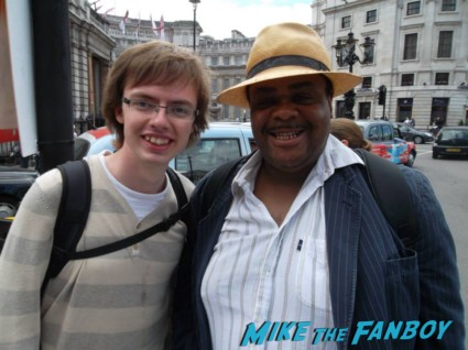 Whitehall Clive signing autographs fan photo rare promo in london