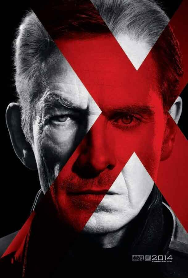X-men days of future past poster logo ian mckellen michael fassbender rare promo