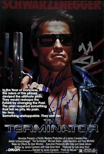 Sabotage Filming Location Arnold S signing