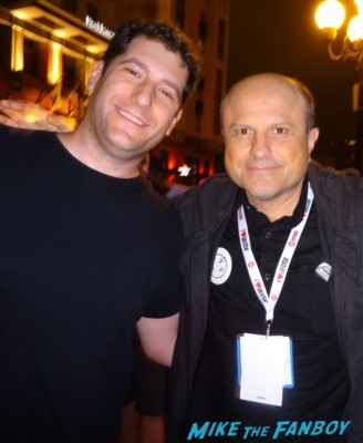 Enrico Colantoni fan photo signing autographs at the samsung veronica mars party in san diego comic con