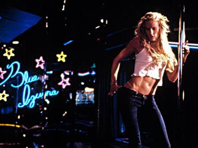 Daryl Hannah 2 Dancing with the Blue Iguana