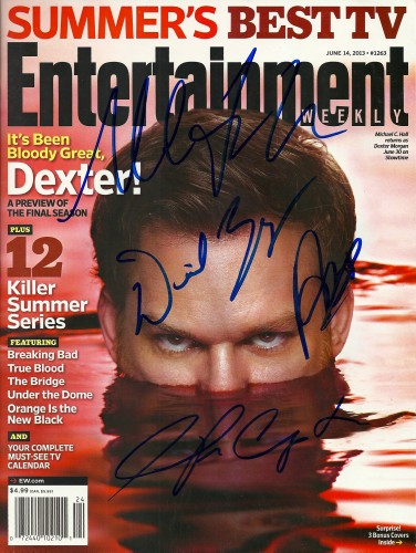 Dexter Filming Location Autograph #8