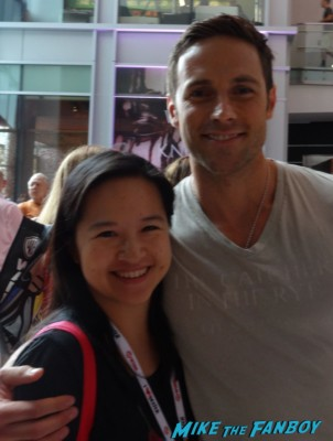 Dylan Bruce fan photo signing autographs hot sexy orphan black star rare promo sdcc