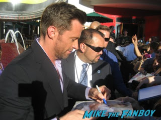 Hugh jackman Signing Poster autograph rare walk of fame