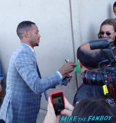 Marlon Wayans signing autographs for fans jimmy kimmel live rare promo white chicks rare