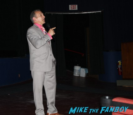 "Ray ""Boom Boom"" Mancini q and a after a screening of The Good Son rare signing autographs for fans"