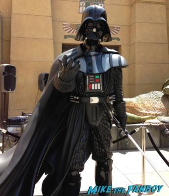 star wars capetown film festival darth vader prop display rare