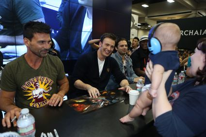 Captain America: The Winter Soldier Cast Signing! Chris Evans! Samuel L. Jackson! Anthony Mackie! Emily VanCamp! Sebastian Stan! Frank Grillo! Autographs! And More Marvel Goodness!