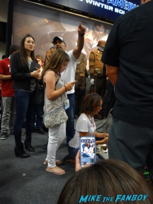 Jennifer Grey at the Marvel's Agents of S.H.I.E.L.D. Autograph Signing at SDCC comic con rare joss whedon clark gregg