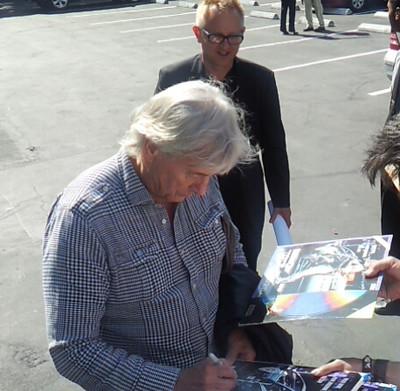 Paul Verhoeven signing