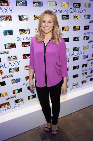 Kristen Bell attends the after party for Veronica Mars at The Samsung Galaxy Experience on July 19, 2013 in San Diego, California.