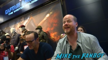 Joss Whedon at Marvel's Agents of S.H.I.E.L.D. Autograph Signing at SDCC comic con rare joss whedon clark gregg