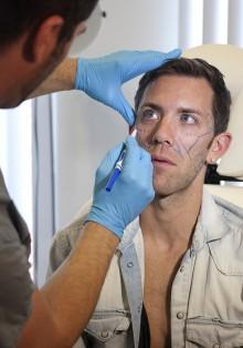 Nicholas Ryan _surgery ryan gosling hot sexy headshot rare promo