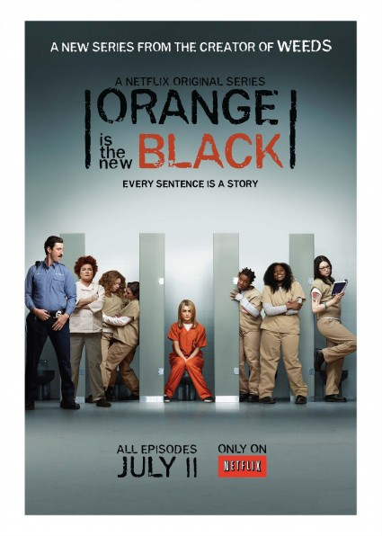 Orange is the new black key art rare promo poster taylor Schilling