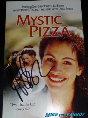 Mystic Pizza signed autograph laserdisc mini poster rare promo