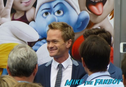 neil patrick harris at the smurfs 2 premiere The Smurfs 2 premiere katy perry signing autographs for fans