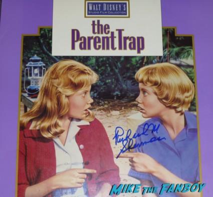 Richard M. Sherman signed the parent trap lp Disney legend Richard M. Sherman signing autographs for fans rare