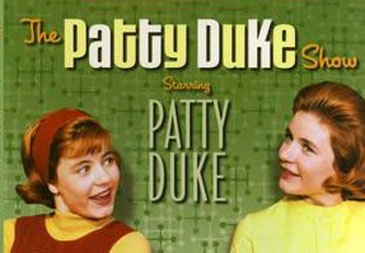 Patty Duke show logo rare patty duke astin promo photo