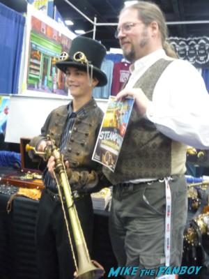 Master Thomas Willeford cosplay san diego comic con sdcc 2013 rare